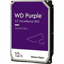 """WD Purple Surveillance 12TB 7200 rpm SATA III 3.5"""" Internal Hard Drive"""