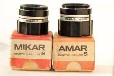 Amar / Mikar Enlarger Lens (Poland)  f4.5/105mm  with original box