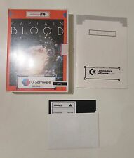 "CAPTAIN BLOOD PC ITA BIG BOX CTO SOFTWARE INFOGRAMES 5.25"" RETROGAME VIDEOGAME"