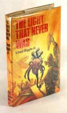 First Edition 1974 The Light That Never Was Lloyd Biggle Science Fiction HC w/DJ
