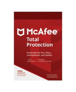 McAfee Total Protection - 1 Device / 1-Year - Global - CD