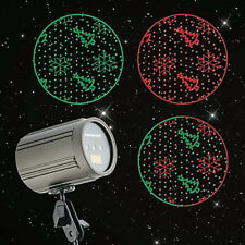 Red Green Snowflakkes & Trees Laser Projection Light Color LPL-901 Christmas