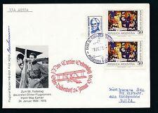 86350) Svizzera, MAX Cartier gedenkflug Olten... 24.1.78, Zul. argent. antartico