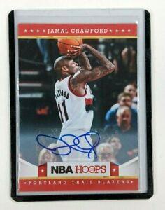 2011-12 NBA Hoops Jamal Crawford #129 Auto Autographed