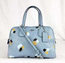 Coach 37176 NOLITA Floral Print Pebble Leather Satchel Bag Msrp $295