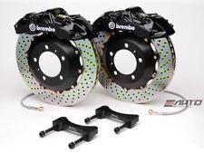 Brembo Front Gt Brake Bbk 6 Piston Black 355x32 Drill Disc A4 09 14 A5 08 14 B8