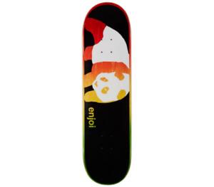 ENJOI Rasta Veneer Panda Skateboard Deck R7