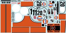 1/10 Porsche Le mans 917 Gulf Group C Decal Sticker for TT01 TT03 Chassis Car RC