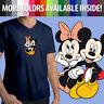 Disneyland Minnie Mickey Mouse Disney Couple Love Unisex Top Tee V-Neck T-Shirt