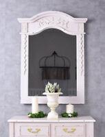 Spiegel Shabby Wandspiegel Landhausstil Badspiegel Konsolenspiegel Rosa Antik