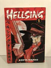 Hellsing Manga Vol. 1 Kohta Hirano 2003 Dark Horse Monsters Animation Paperback!