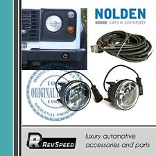 NCC by Nolden DRL LED Black Daytime Lights Set 70mm for Land Rover Defender