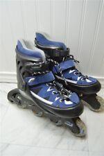 Condor Black Blue Size  1-4 Boy's Roller Skates Inline