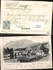 129194,Gruss aus Fieberbrunn in Tirol Landschaft 1902