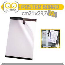PORTA POSTER PVC busta avvisi parete vetrata messaggio pvc informazioni messaggi
