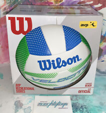 Wilson VELOCITY Volleyball Beach Ball AVP Recreational Series Outdoor Official