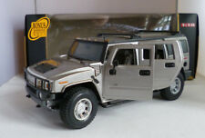 Maisto 36631 HUMMER H2 SUV 1:18 Premiere Edition Argento showroom Display Unit