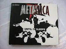 METALLICA - UNTIL IT SLEEPS - CD SINGLE 2 TRACKS U.S.A. PRESS 1996