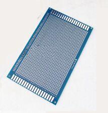 15x9 cm PCB Veroboard Prototype Stripboard Strip Vero Board breadboard Blue UK D