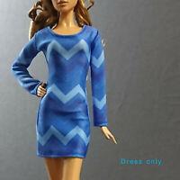 "Handmade~Doll dress for 12""Doll~Barbie,Fashion Royalty,Silkstone#B10-0-000324-0"