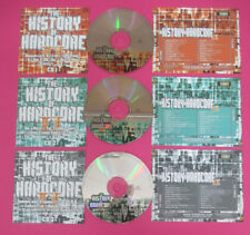 CD Compilation The History Of Hardcore II SET 3 CD DJ ROB  no lp mc vhs(C43)