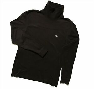 Men`s LACOSTE Roll Neck Sweater Pullover Long Sleeve Size 3