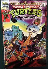 TEENAGE MUTANT NINJA TURTLES ADVENTURES #12 (1990) Archie Comics VG+/FINE-