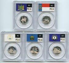 2001 S Silver State Quarter Set PCGS PR69DCAM