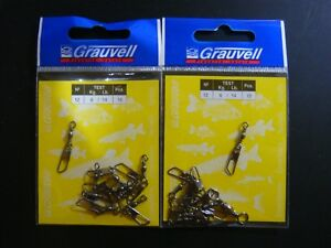 GRAUVELL  Nº 12 - 6 KG   WIRBEL / EMERILLONES / ÉMERILLONS / SWIVELS / GIRELLE