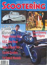 Scootering Magazine no.111 Dec 1994 Microcar supplement