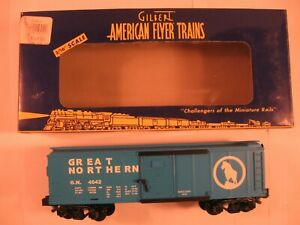 """American Flyer 6-48343 """"GREAT NORTHERN"""" BOXCAR """"NEW"""" in ORIG BOX"""