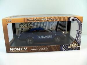 Modellauto NOREV* RENAULT ALPINE A310 V6 * GENDAEMERIE * 1:18 * OVP * blau