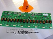 """Visco 32"""" VSC-32V1 Backlight Inverter Board CMO VIT70002.6 Rev:4"""