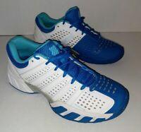 K-SWISS BIGSHOT LIGHT 2.5 LIGHTWEIGHT TENNIS SNEAKER WHITE/BLUE WOMEN Size 9