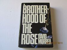 The Brotherhood of the Rose by David Morrell 1st/1st 1984 HC/DJ