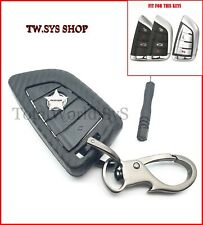 ABS Key Fob Case Cover For BMW X5,X6,F15,F40,16,7,X ☆Carbon Fibre pattern☆