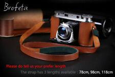 Brofeta leather case bag and strap for Voigtlander Vito Iii Vito 3 film camera