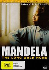 MANDELA-The Long Walk Home DVD-Historical Biography Nelson Mandela - Brand New