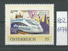 """Österreich PM personalisierte Marke Eisenbahn """"WIPA 08"""" **"""