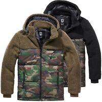 Brandit Teddyfleece Jacke Jackson Fleece Jacke Polar Winterjacke Camo S-5XL