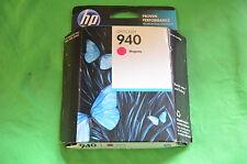 HP CARTUCCIA DI INCHIOSTRO MAGENTA 940 c4904an Genuine Originale data Oct 2013