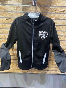 Las Vegas Raiders Small Iconic Defender Full Zip Jacket