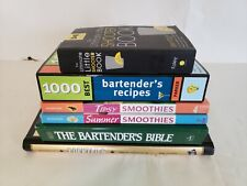 Cocktails - Bartender Recipies - Alcoholic Beverage - Book Set (6)