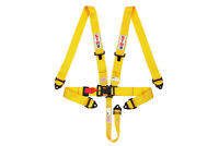 STR SFI Approved 5 Point Racing Safety Harness Belt NASCAR Buckle F2 F1 - Yellow