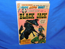 Rocky Lane's Black Jack #27 Charlton Pub 1959