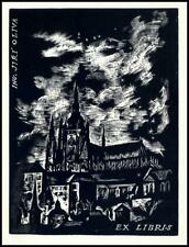 Rastislav Michal Exlibris X2 Bookplate Architecture 143