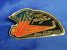NHRA DRAG RACING Snakes Final Strike DON PRUDHOMME Farewell Tour Pin