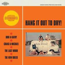 "HANG IT OUT TO DRY vinyl 7""EP garage punk Last Word Bud & Kathy New Breed Downey"