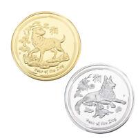 WR 2018 Australia Lunar Year Of The Dog 24K Gold / Silver Bullion Coin Set Gifts