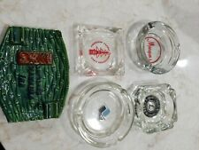 New ListingVintage 5 Assorted ashtrays Hawaii Inn Vile American export Idea center